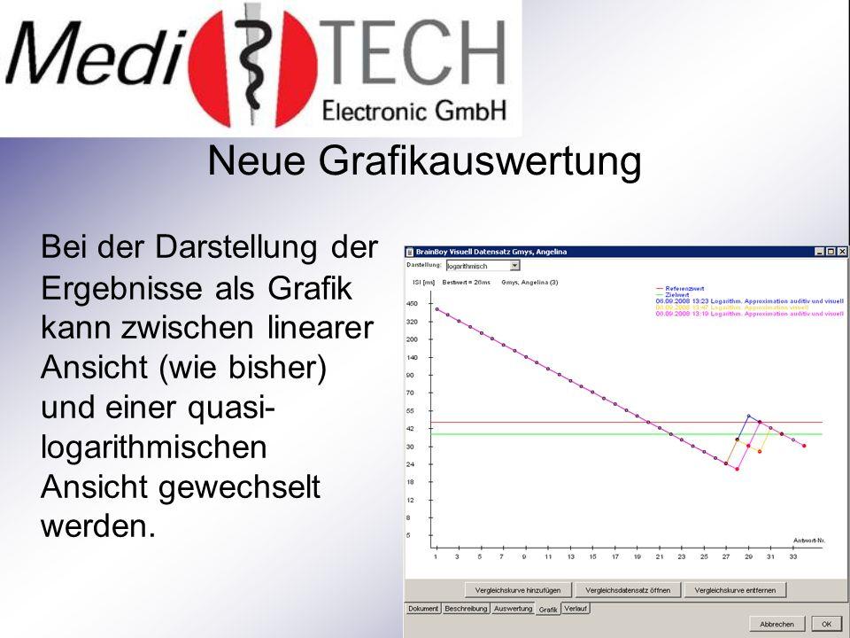 TREND-Analyse Bei den BUP-Spielen ist es jetzt möglich, sich den Verlauf der Bestwerte über eine Reihe von Tests als Grafik anzeigen zu lassen.