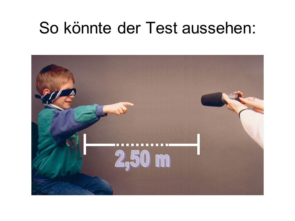 Ortung Bei zentral guthörenden Personen erfolgt die Ortung der Geräusche in der Horizontalen auf 5° Grad und in der Vertikalen auf 10° Grad genau.