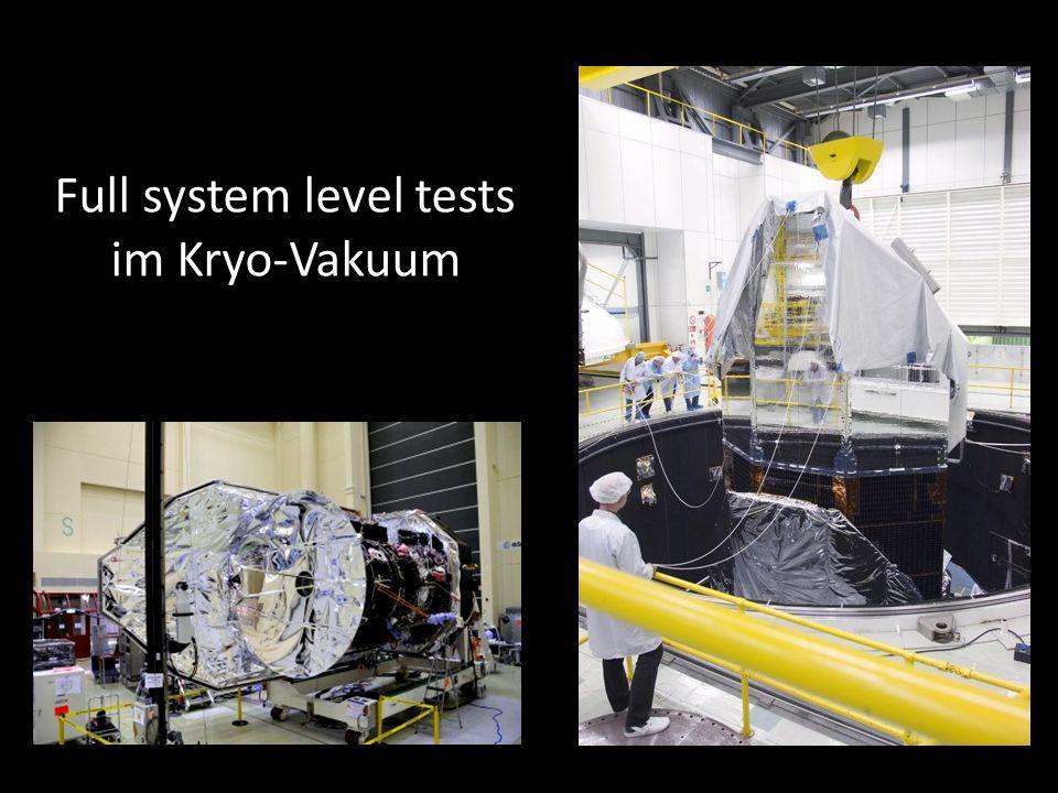 Full system level tests im Kryo-Vakuum