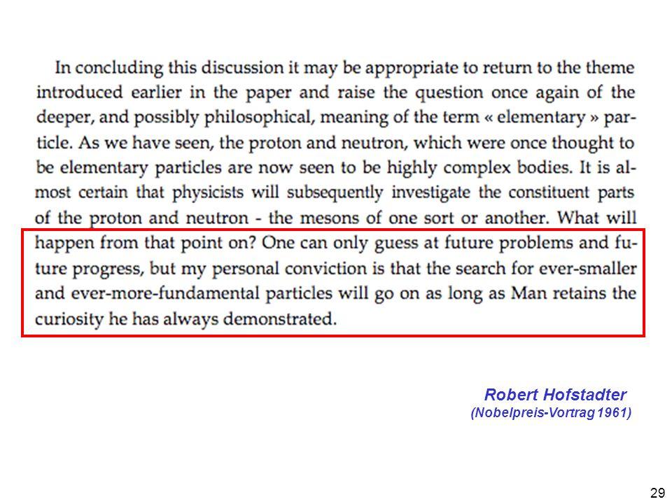 29 Robert Hofstadter (Nobelpreis-Vortrag 1961)