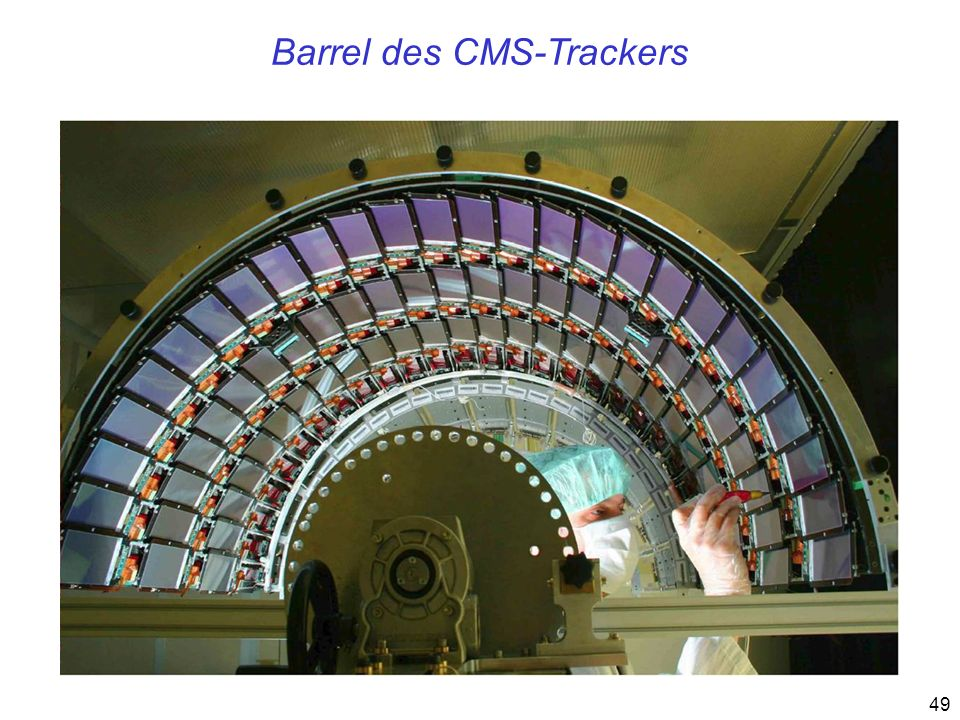 49 Barrel des CMS-Trackers
