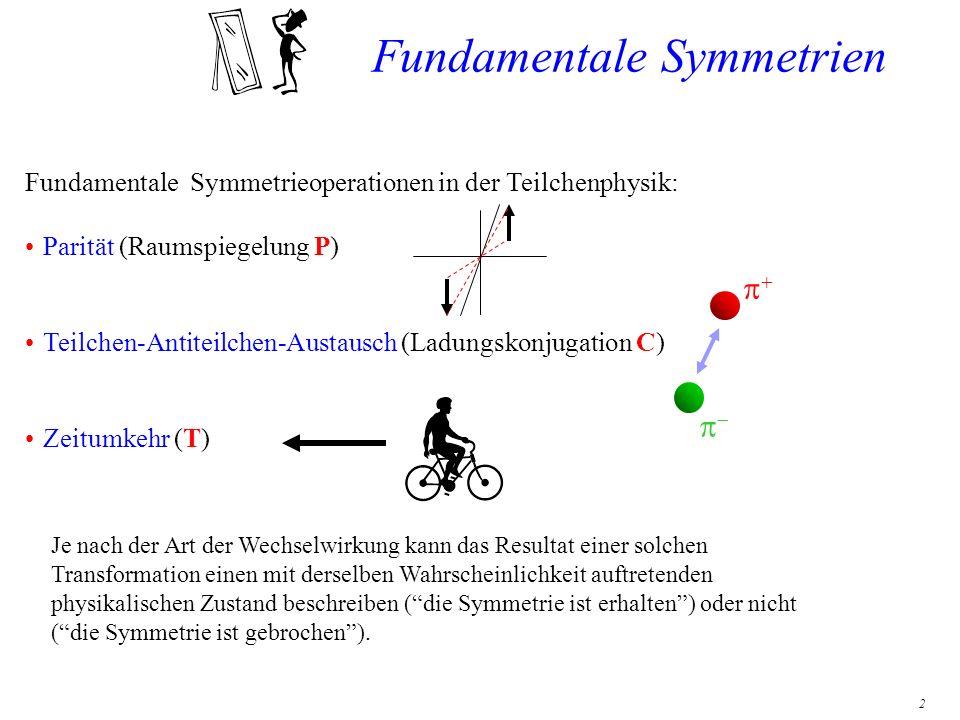 3 Sind Elementarteilchen völlig symmetrisch .