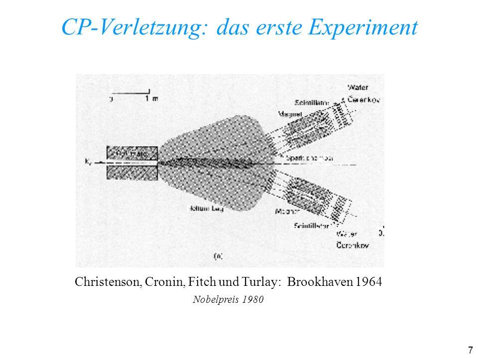 8 Aufbau des Experimentes NA48 am CERN zur Messung der direkten CP-Verletzung