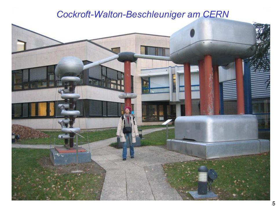 16 Die größten Beschleuniger BeschleunigerTeilchenartE Strahl Start Kollisionsrate/ Teilchengröße [ 10 -30 cm -2 s -1 ] TEVATRONp 2 x 900 GeV 198725 PEP IIe + e - 10,5 GeV 19995000 KEK Be + e - 10,5 GeV 199913 000 HERAp e ± 26 + 820 GeV 199215 LHC (in Bau) p 2 x 7000 GeV 2007>10 000