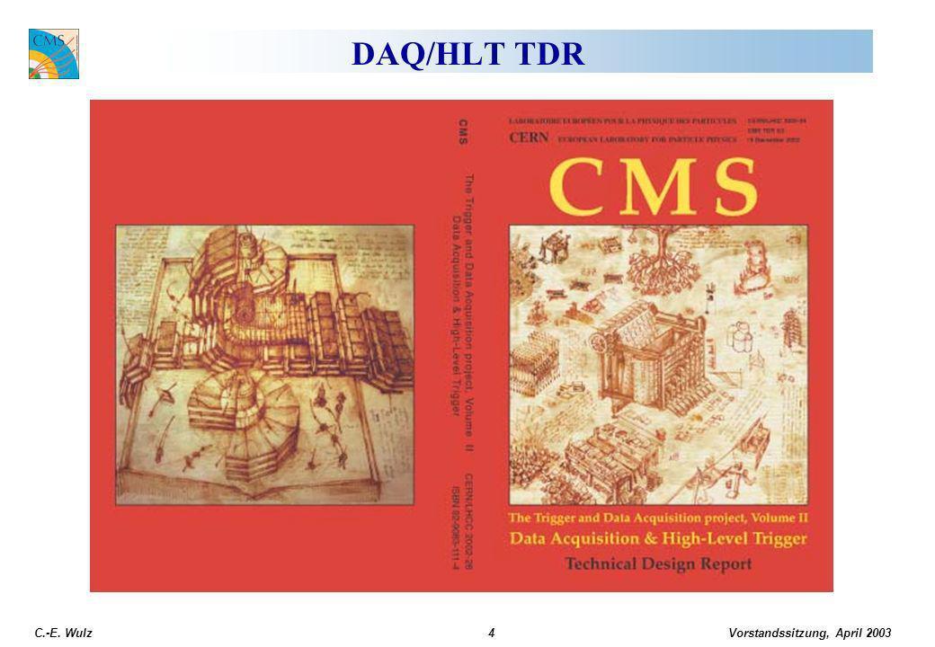 Vorstandssitzung, April 2003 C.-E.