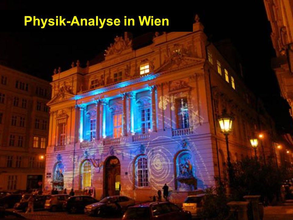 Christoph SchwandaHEPHY Vorstand, Dez 2-3, 2004 - Seite 20 Physik-Analyse in Wien