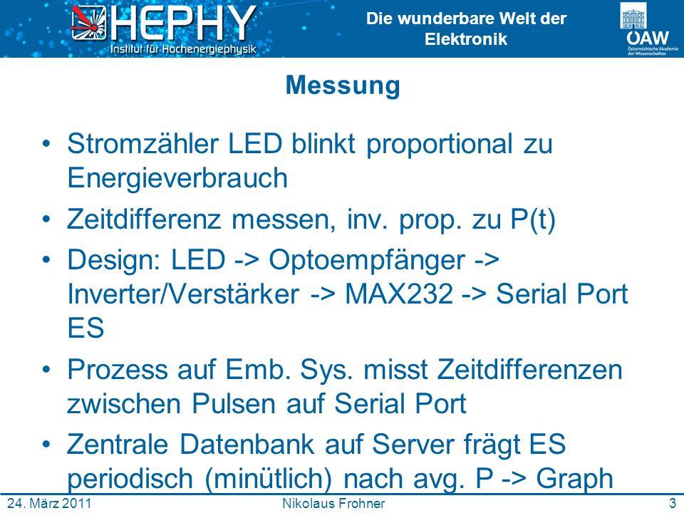 Die wunderbare Welt der Elektronik Demo 4Nikolaus Frohner24.