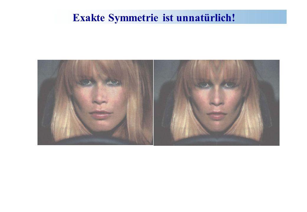 Exakte Symmetrie ist unnatürlich!
