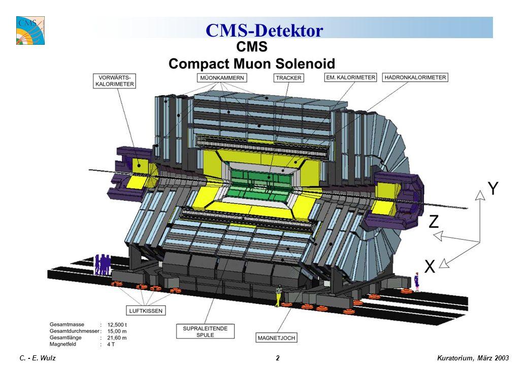 Kuratorium, März 2003 C. - E. Wulz2 CMS-Detektor