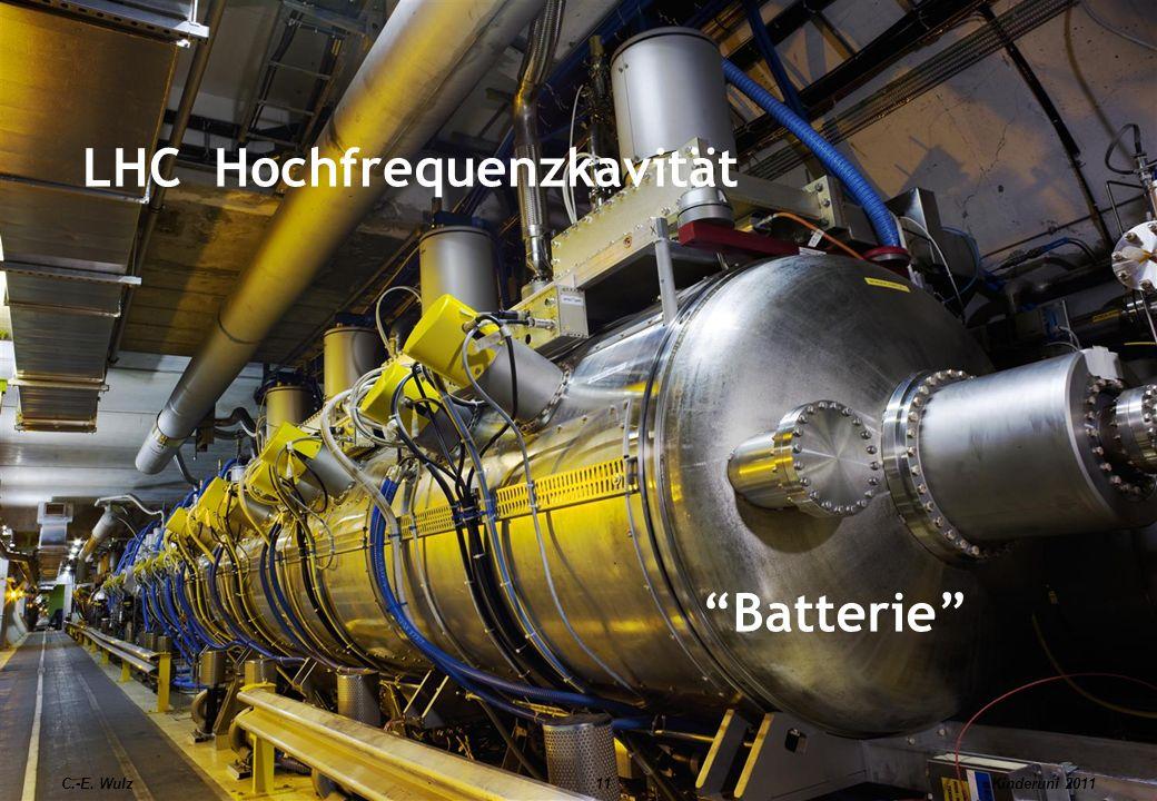 C.-E. Wulz11 LHC Hochfrequenzkavität Batterie