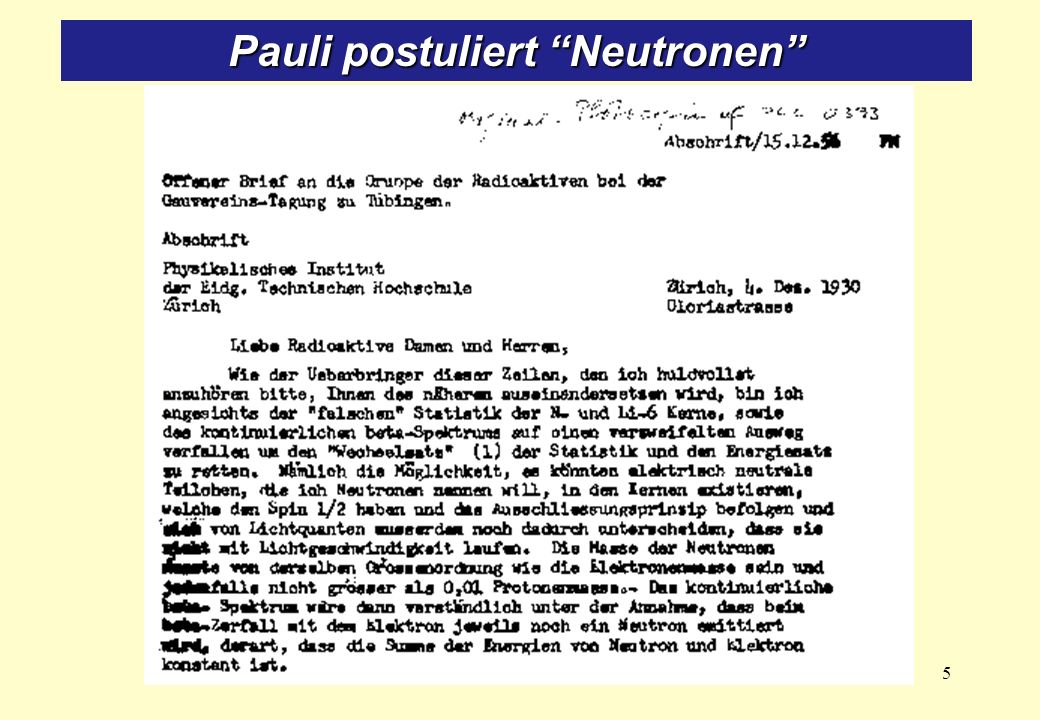 Bahcall: … established as early as 1996 that the solution of the Solar Neutrino Problem lay in new particle physics, not new astrophysics … Klarheit 2001 durch SNO-Resultate (Sudbury Neutrino Observatory).