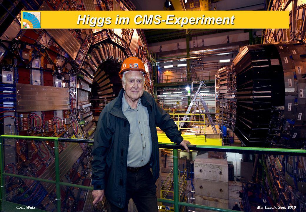 Higgs im CMS-Experiment C.-E. Wulz12Ma. Laach, Sep. 2010
