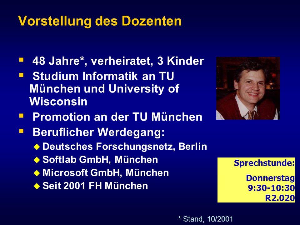 © J.Heigert 2005 Betriebliche Informations- und Steuerungssysteme II Prof.