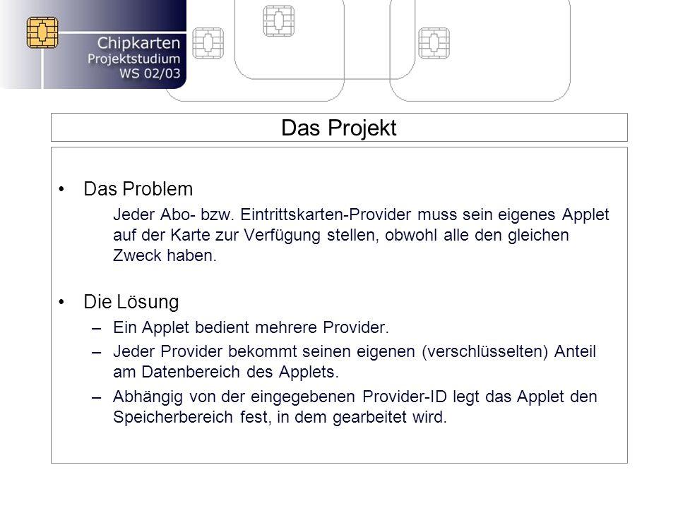 Das Projekt Das Problem Jeder Abo- bzw.