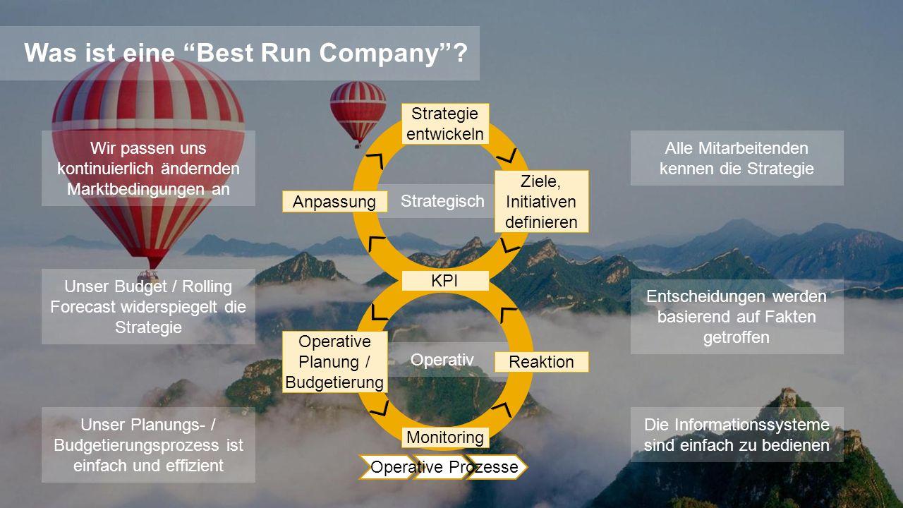 ©2013 SAP AG or an SAP affiliate company. All rights reserved.2 Strategisch Operativ Was ist eine Best Run Company? Entscheidungen werden basierend au