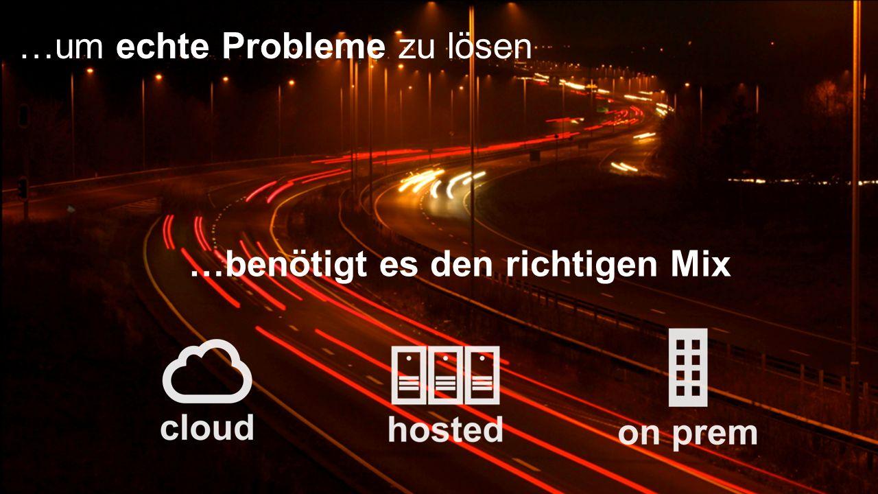 3 ©2013 SAP AG or an SAP affiliate company. All rights reserved. …benötigt es den richtigen Mix …um echte Probleme zu lösen