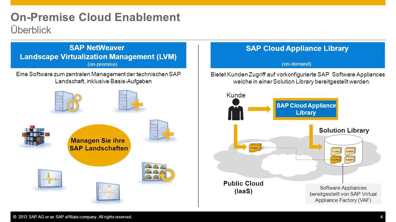 SAP NetWeaver Landscape Virtualization Management