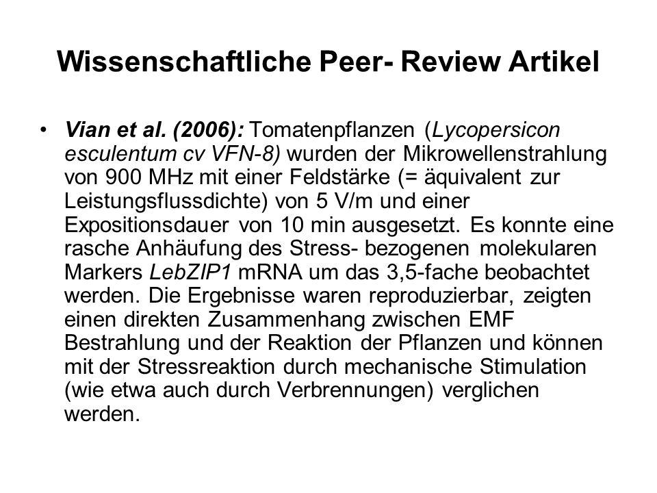 Wissenschaftliche Peer- Review Artikel Vian et al.
