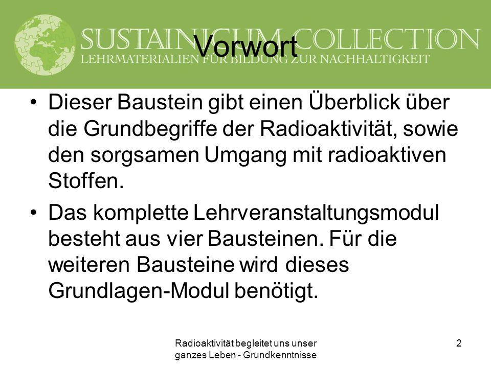 Radioaktivität begleitet uns unser ganzes Leben - Grundkenntnisse 23 Bodenbelastung durch Cäsium-137 im Jahr 2000 (Umweltbundesamt) http://www.umweltbundesamt.at/fileadmin/site/umweltkontrolle/2001/20_radio.pdf Einheit kBq/m²