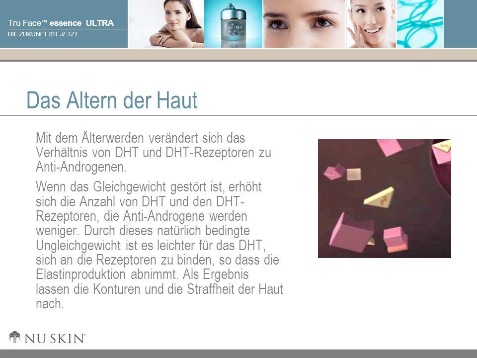© 2001 Nu Skin International, Inc Tru Face essence ULTRA DIE ZUKUNFT IST JETZT Das Altern der Haut Mit dem Älterwerden verändert sich das Verhältnis v