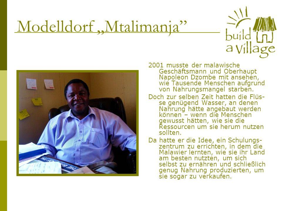 2001 musste der malawische Geschäftsmann und Oberhaupt Napoleon Dzombe mit ansehen, wie Tausende Menschen aufgrund von Nahrungsmangel starben. Doch zu