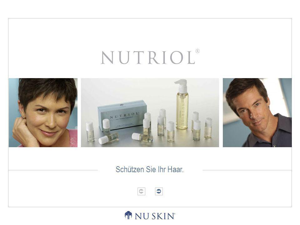 DIE PHYSIOLOGIE DES HAARSDAS HAARPFLEGEPRODUKT NUTRIOLDAS NUTRIOL-ERLEBNIS Die Physiologie des Haars Haare bestehen aus Zellen mit Keratin, einem äußerst beständigen Protein.