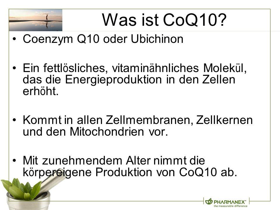 Was ist CoQ10.