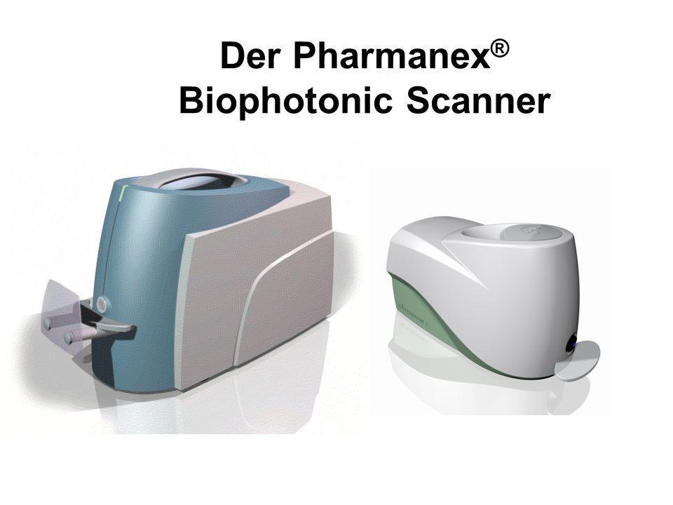 Der Pharmanex ® Biophotonic Scanner
