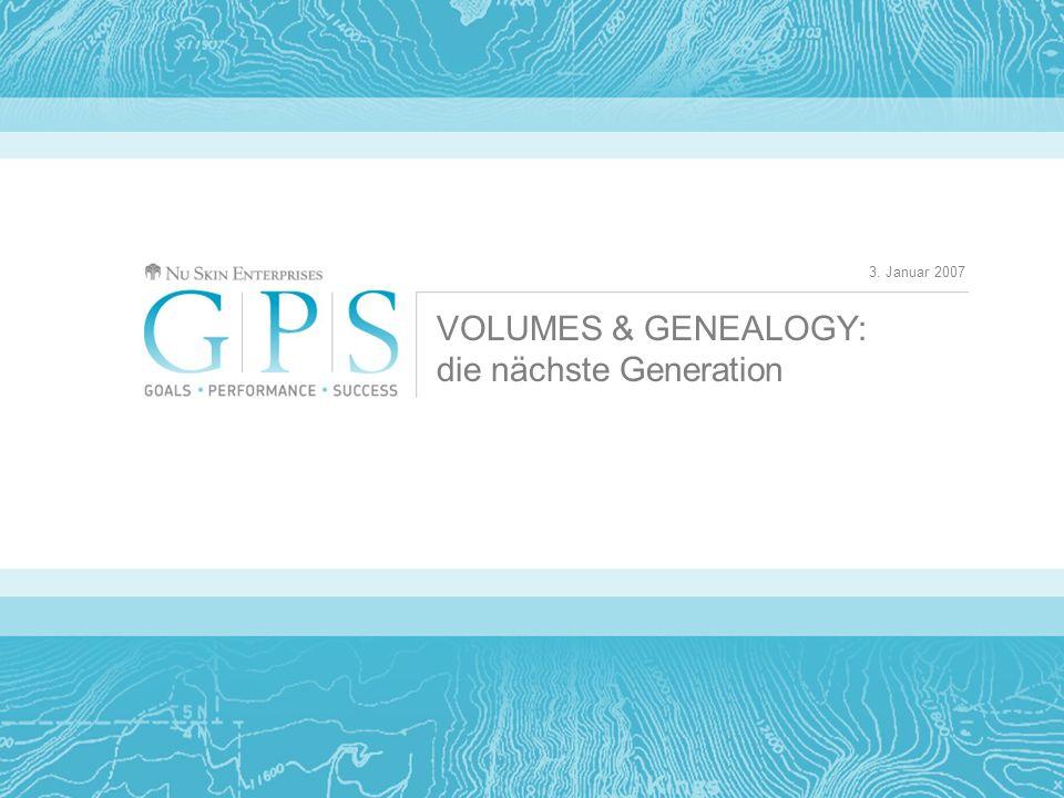 Wir wissen, dass viele von Ihnen mit dem Volumes & Genealogy Tool arbeiten.