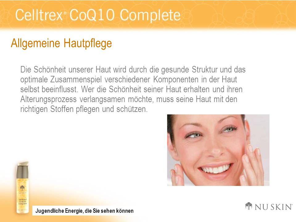 Anwendung Verwenden Sie Celltrex CoQ10 morgens nach Reinigung und Gesichtswasser und sorgen Sie so für einen den ganzen Tag anhaltenden Schutz vor freien Radikalen.