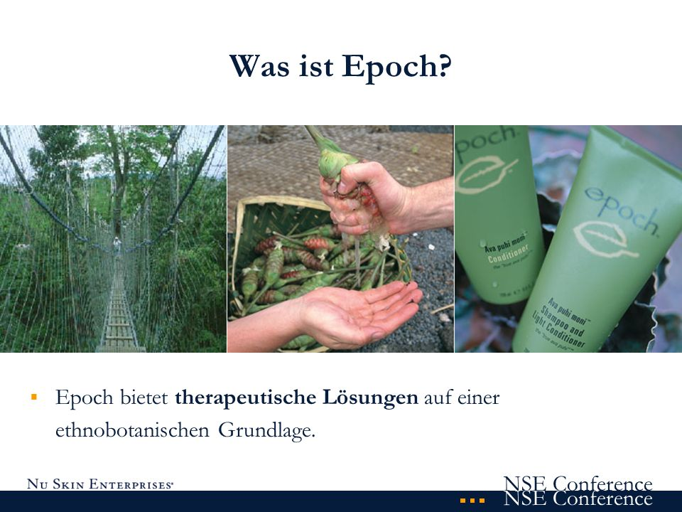 Was ist Epoch? Epoch bietet therapeutische Lösungen auf einer ethnobotanischen Grundlage.