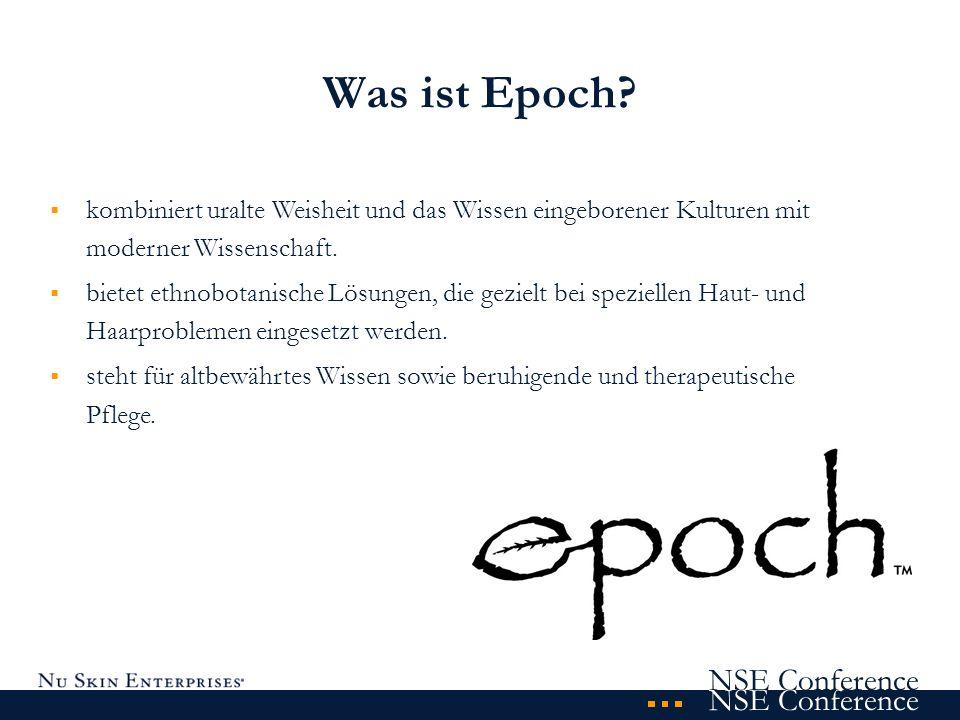NSE Conference Was ist Epoch? kombiniert uralte Weisheit und das Wissen eingeborener Kulturen mit moderner Wissenschaft. bietet ethnobotanische Lösung