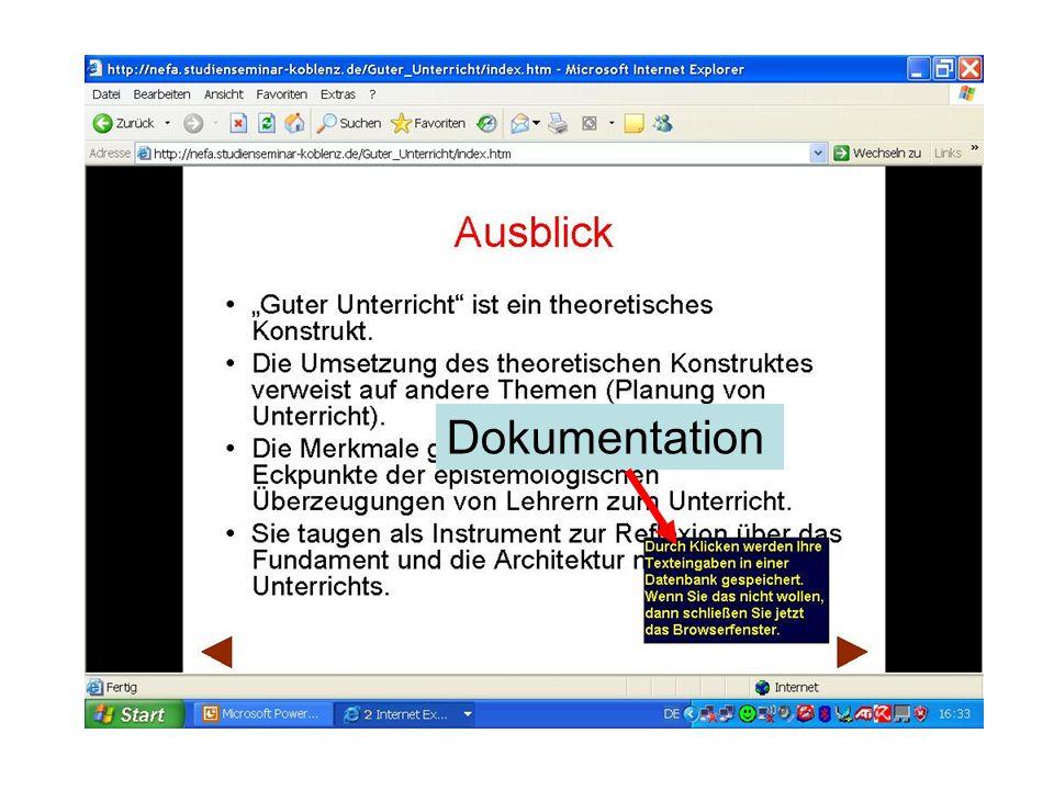 Das Forum Das Forum wird von den Seminarleitern mit einer These / Frage / Impuls eröffnet (sog.