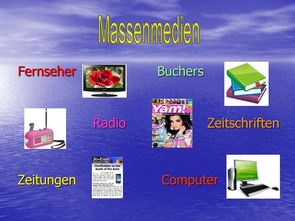 Fernseher Buchers Radio Zeitschriften Radio Zeitschriften Zeitungen Computer
