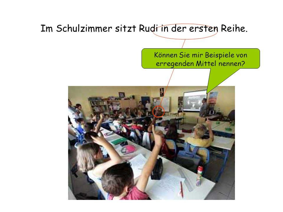 Diaporama PPS réalisé pour http://www.diapora mas-a-la-con.com Im Schulzimmer sitzt Rudi in der ersten Reihe.