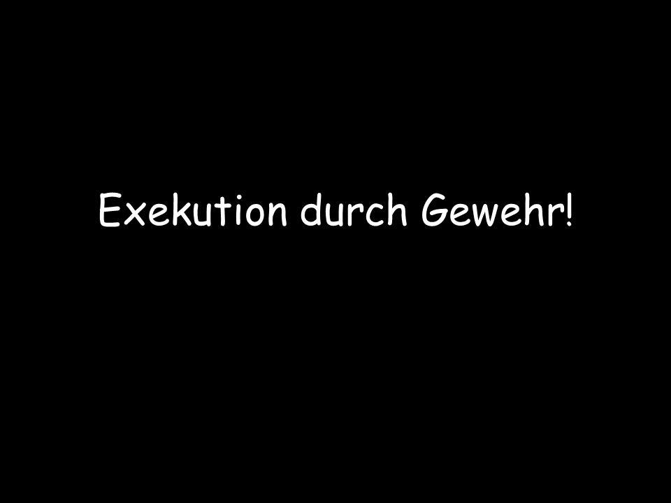 Ein Kärntner, ein Linzer und ein Wiener werden zum Tode verurteilt.