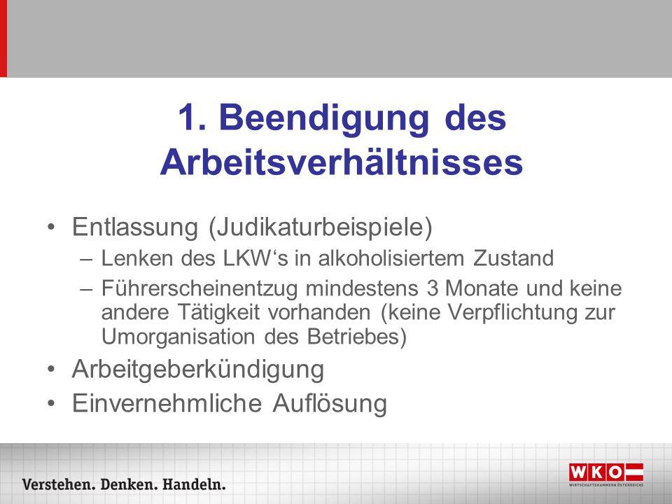 Kollektivvertrag Artikel IV - Grundsätzliche Bestimmungen 1.
