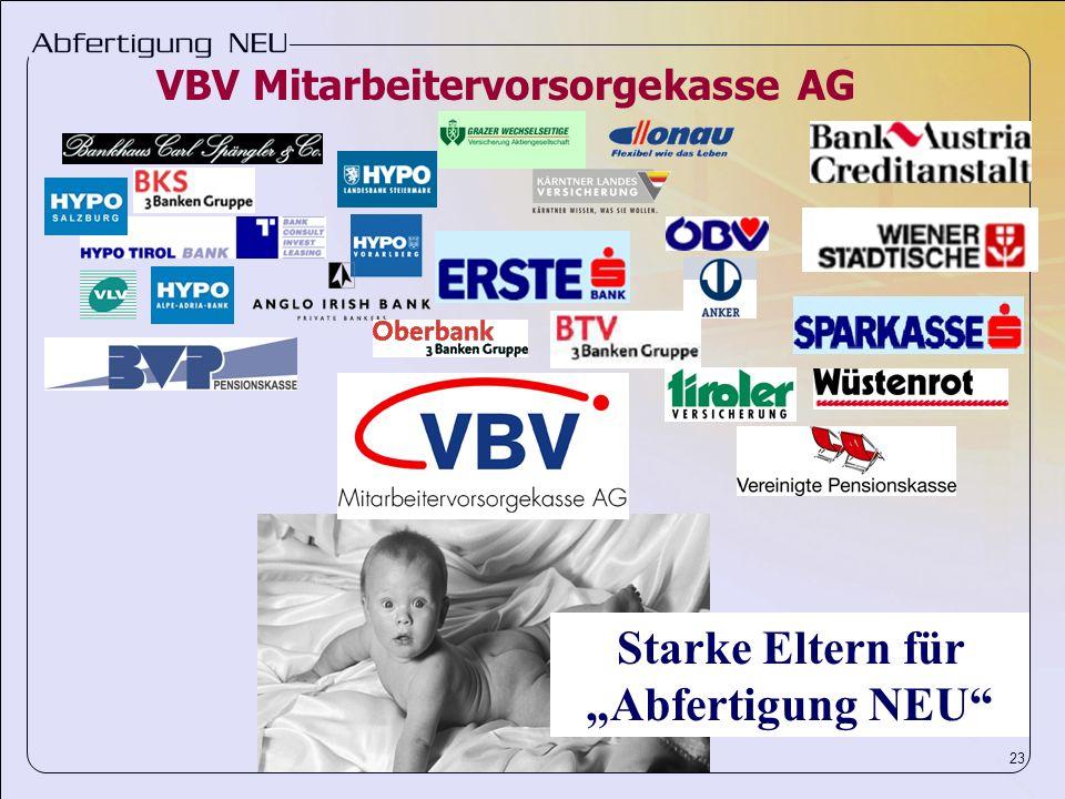23 Starke Eltern für Abfertigung NEU VBV Mitarbeitervorsorgekasse AG