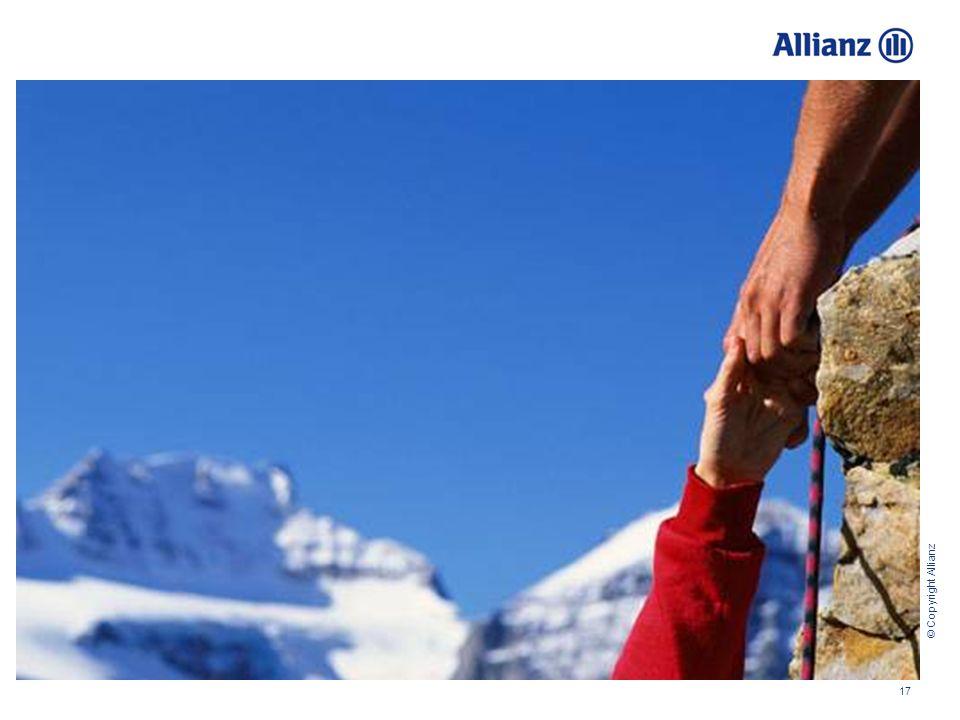 © Copyright Allianz 17