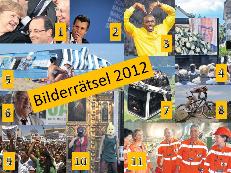 Bilderrätsel 2012