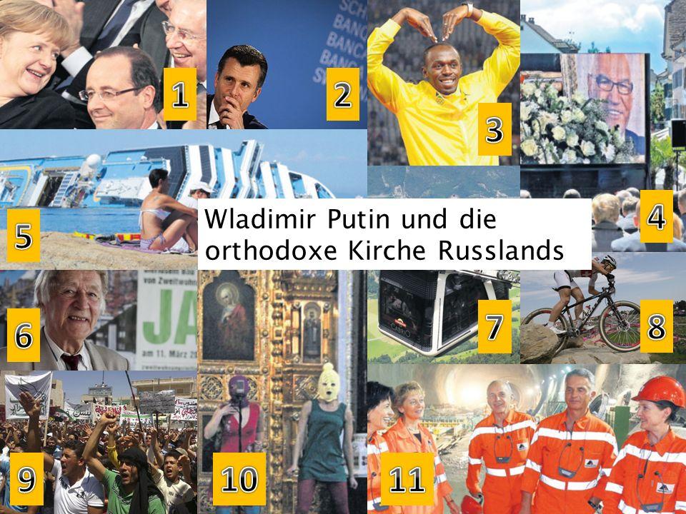 Wladimir Putin und die orthodoxe Kirche Russlands