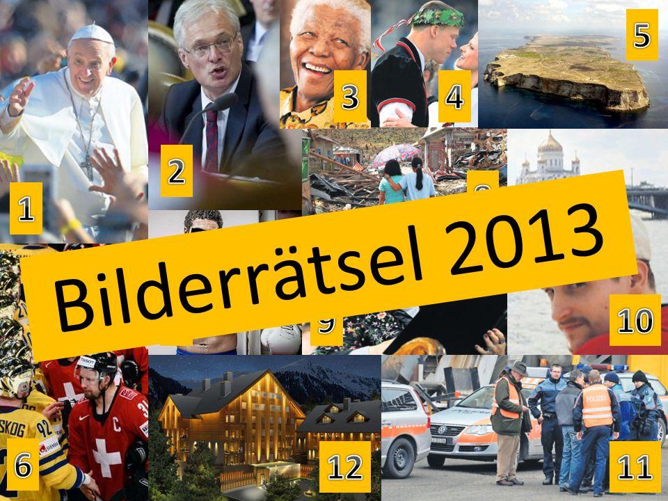 Bilderrätsel 2013