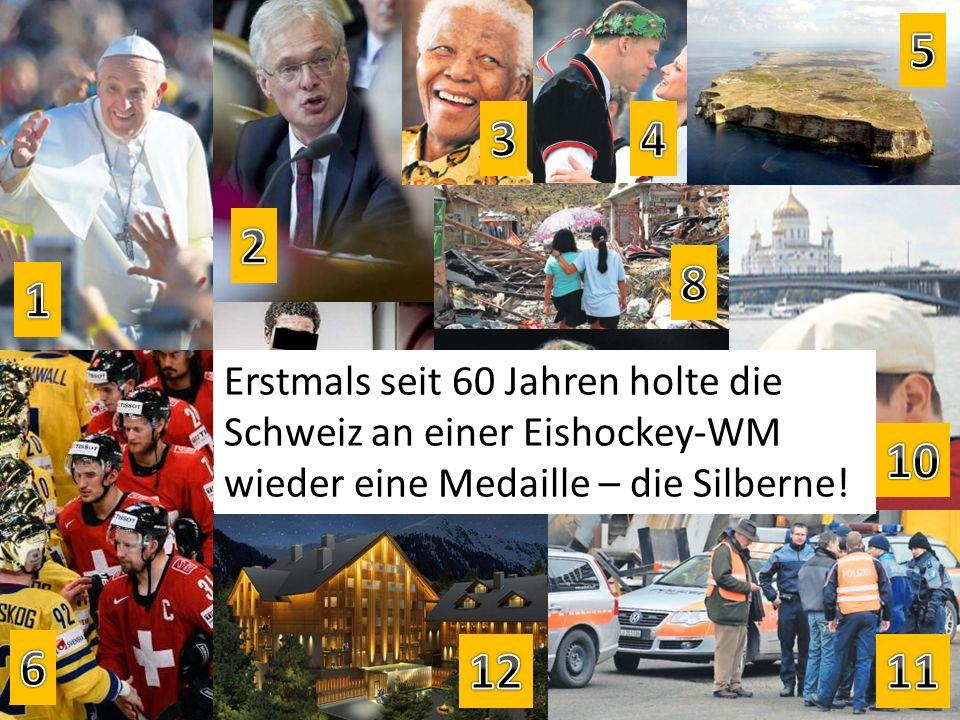 Erstmals seit 60 Jahren holte die Schweiz an einer Eishockey-WM wieder eine Medaille – die Silberne!