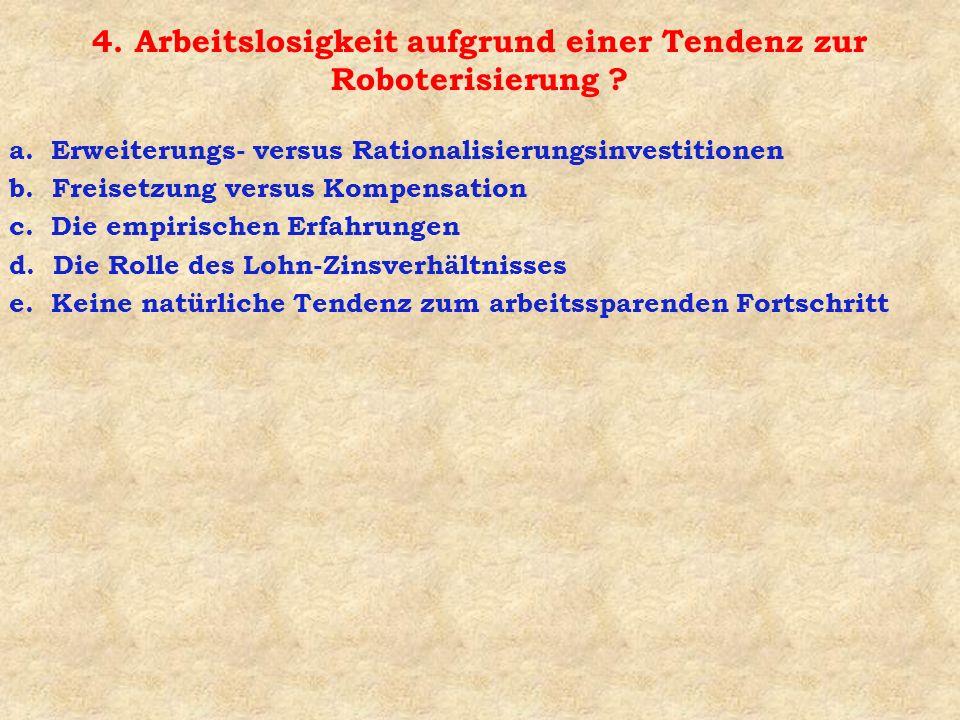 5.Mangelnde Preisflexibilitäten a. Tarifverträge und Preisflexibilität b.