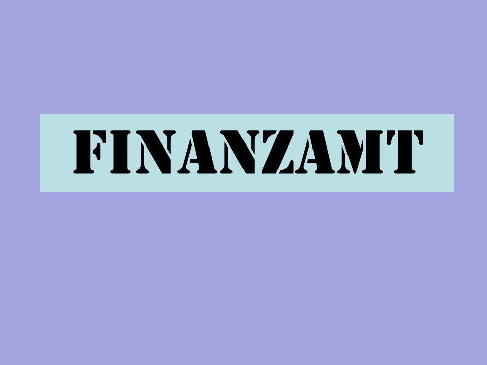 Finanzamt ist eine Einrichtung, die schneller als man selbst zu der Erkenntnis kommt, dass es einem zu gut geht.