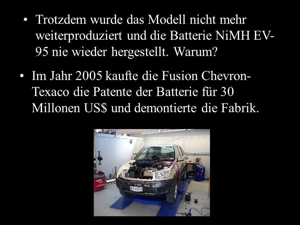 Gewonnen! Endlich unterstützte und autorisierte Toyota diejenigen, die diese Autos gemietet hatten und jetzt kaufen wollten. Doch dann begannen einige