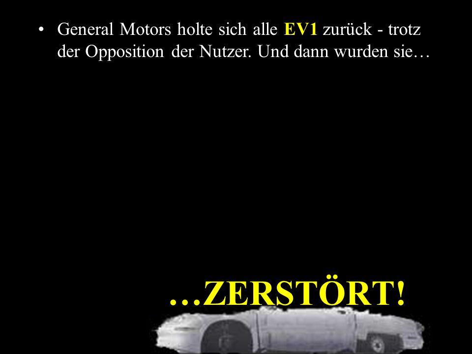 Trotzdem wurde das Modell nicht mehr weiterproduziert und die Batterie NiMH EV- 95 nie wieder hergestellt.