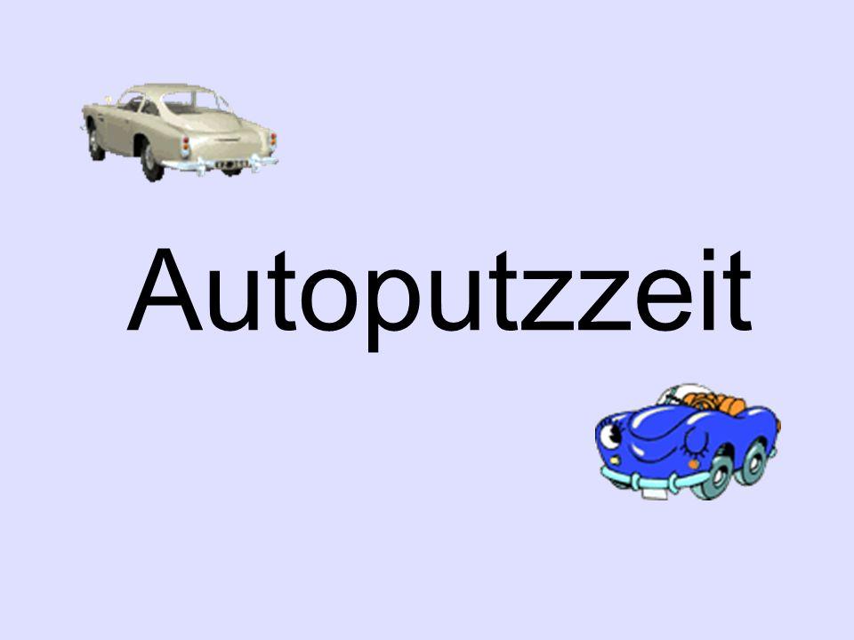Autoputzzeit