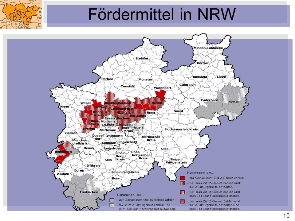 10 Fördermittel in NRW