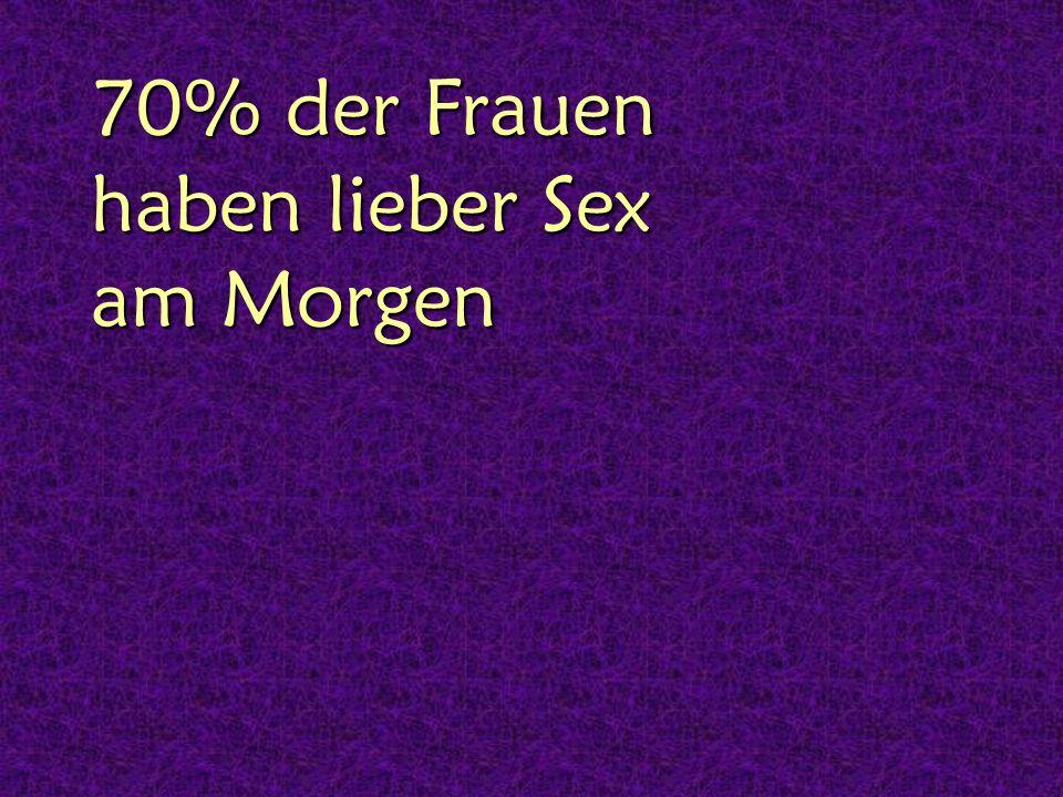 46% der Frauen haben auch Analsex